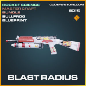 Blast Radius Bullfrgo skin legenary blueprint in Call of Duty Black Ops Cold War and Warzone