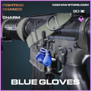 Blue Gloves charm in Call of Duty Black Ops Cold War and Warzone