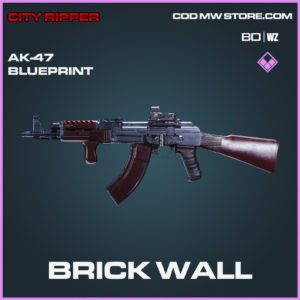 Brick Wall Ak-47 skin epic blueprint for call of duty black ops cold war & warzone