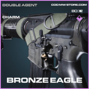 Bronze Eagle charm for Call of Duty Black Ops Cold War & Warzone
