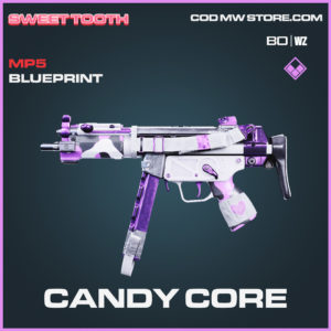 Candy Core MP5 Skin epic blueprint in Call of Duty Black Ops Cold War and Warzone