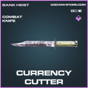 Currency Cutter combat knife in Call of Duty Black Ops Cold War & Warzone