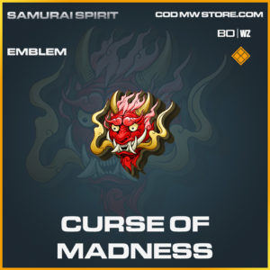 Curse of Madness emblem in Call of Duty Black Ops Cold War and Warzone