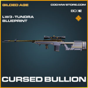 Cursed Bullion LW3 Tundra Skin legendary blueprint call of duty Black Ops Cold War and Warzone