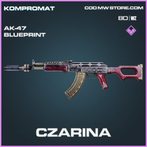 Czarina AK-47 skin epic blueprint Call of Duty Black Ops Cold War and Warzone