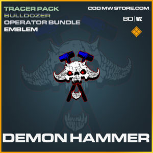 Demon Hammer emblem in Call of Duty Black Ops Cold War and Warzone