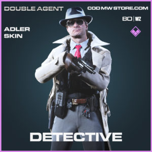 Detective Adler Skin in Call of Duty Black Ops Cold War & Warzone