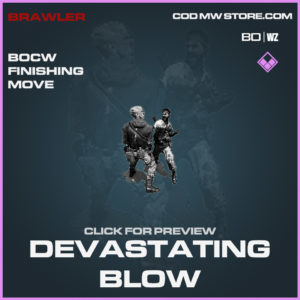 Devastating Blow Finishing move in Call of Duty Black Ops Cold War and Warzone