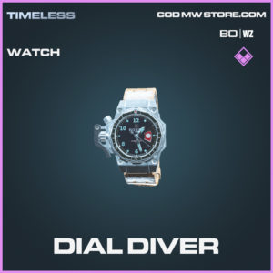 Dial Diver watch in call of duty black ops cold war and warzone