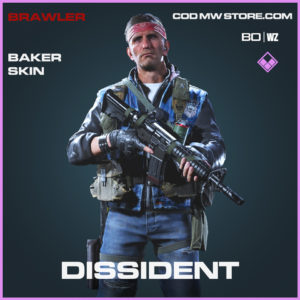 Dissident Baker skin in Call of Duty Black Ops Cold War and Warzone