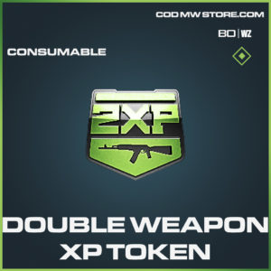 Double Weapon XP Token in Call of duty