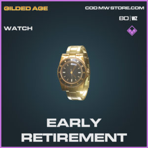 Early Retirement Watch Epic call of duty Black Ops Cold War and Warzone item