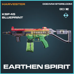 Earthen Spirit KSP 45 blueprint skin in Call of Duty Black Ops Cold War and Warzone