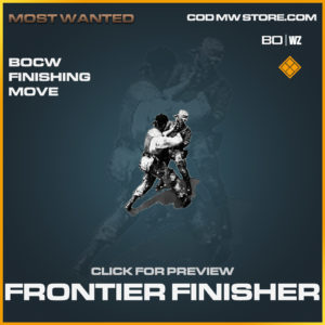 Frontier Finisher Black Ops Cold War & Warzone Finishing Move