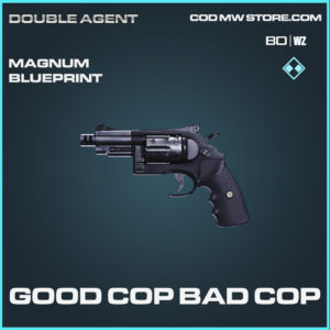 Good Cop Bad Cop Magnum skin rare blueprint for Call of Duty Black Ops Cold War & Warzone