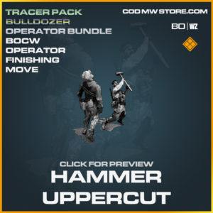 Hammer Uppercut Cold War Operator Finishing Move