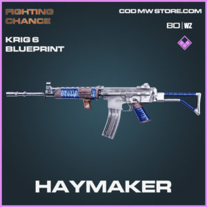 Haymaker Krig 6 skin epic blueprint in Call of Duty Black Ops Cold War and Warzone