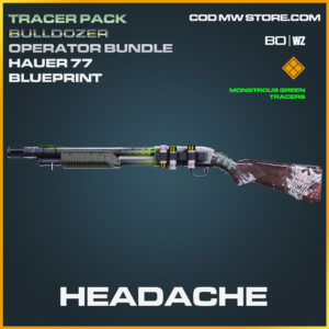 Headache Hauer 77 blueprint skin in Call of Duty Black Ops Cold War and Warzone