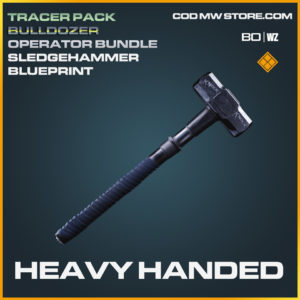 Heavy Handed Sledgehammer blueprint skin in Call of Duty Black Ops Cold War and Warzone