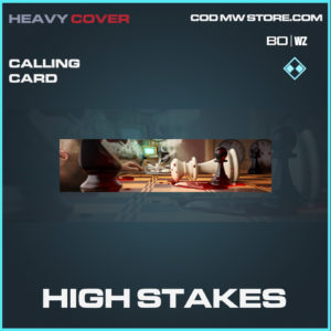 High Stakes calling card in Call of Duty Black Ops Cold War and Warzone
