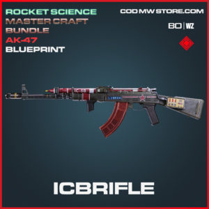 Icbrifle Mastercraft AK-47 Skin Ultra blueprint in Call of Duty Black Ops Cold War and Warzone