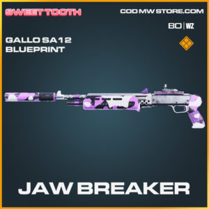 Jaw Breaker Gallo SA12 skin legendary blueprint in Call of Duty Black Ops Cold War and Warzone