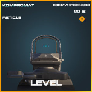 Level Reticle for Call of Duty Black Ops Cold War and Warzone