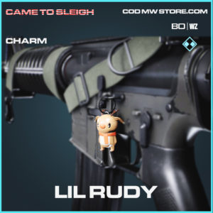 Lil Rudy Charm in Call of Duty Black Ops Cold War and Warzone
