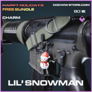 Lil' Snowman charm in Call of Duty Black Ops Cold War and Warzone