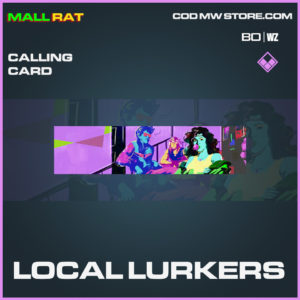 Local Lurkers calling card in Call of Duty Black Ops Cold War and Warzone