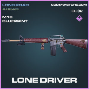 Lone Driver M16 Skin Epic Blueprint Call of Duty Black Ops Cold War and Warzone