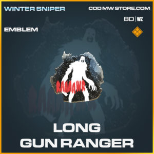 Long Gun Ranger emblem in Call of Duty Black Ops Cold War and Warzone