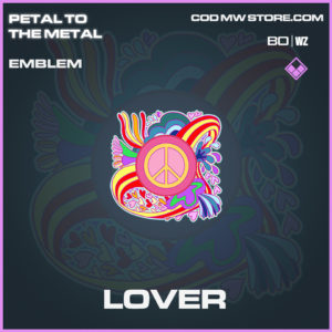 Lover emblem in Call of Duty Black Ops Cold War and Warzone