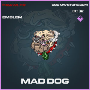 Mad Dog emblem in Call of Duty Black Ops Cold War and Warzone