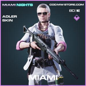 Miami Adler skin in Black Ops Cold War & Warzone