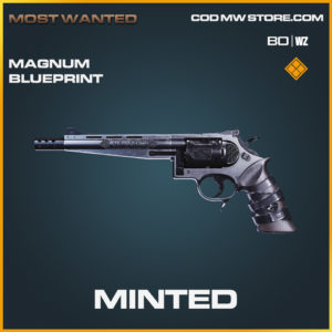 Minted Magnum Skin legendary blueprint for call of duty black ops cold war and warzone