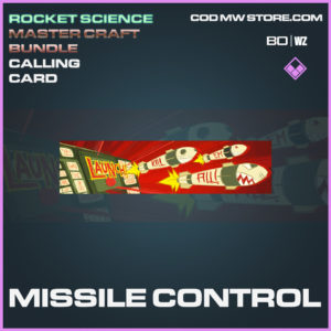 Missile Control calling card in Call of Duty Black Ops Cold War and Warzone