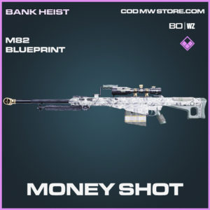 Money Shot M82 skin epic blueprint for Call of Duty Black Ops Cold War & Warzone