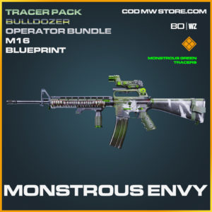 Monstrous Envy M16 blueprint skin in Call of Duty Black Ops Cold War and Warzone