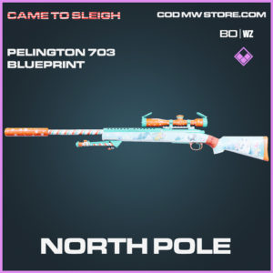 North Pole Pelington 703 skin epic blueprint Call of Duty Black Ops Cold War and Warzone