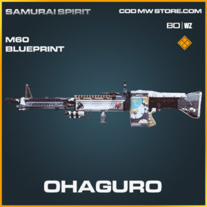 Chaguro M60 blueprint skin in Call of Duty Black Ops Cold War and Warzone