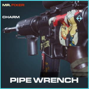 Pipe Wrench charm in Call of Duty Black Ops Cold War and Warzone