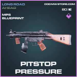 Pitstop Pressure MP5 Skin epic blueprint Call of Duty Black Ops Cold War and Warzone