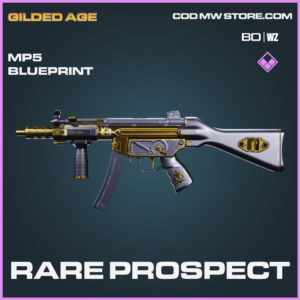 Rare Prospect MP5 Skin Epic blueprint for call of duty Black Ops Cold War and Warzone