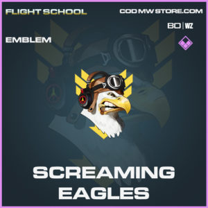 Screaming Eagles emblem in Call of Duty Black Ops Cold War and Warzone