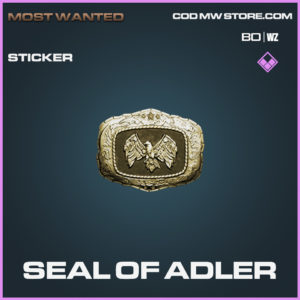 Seal of Adler sticker Epic call of duty black ops cold war and warzone item
