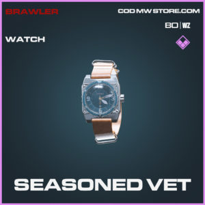 Seasoned Vet watch in Call of Duty Black Ops Cold War and Warzone