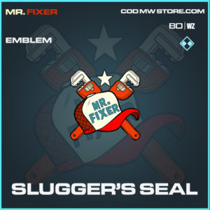 Slugger's Seal emblem in Call of Duty Black Ops Cold War and Warzone