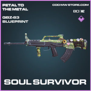 Soul Survivor QBZ-83 Skin epic blueprint Call of Duty Black Ops Cold War and Warzone