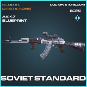 Soviet Standard AK-47 skin rare blueprint Call of Duty Black Ops Cold War and Warzone